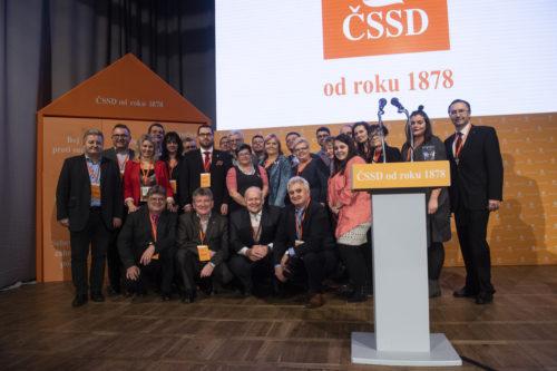 ČSSD si v Hradci Králové zvolila nové vedení, kam míří novoměstský starosta Michal Šmarda