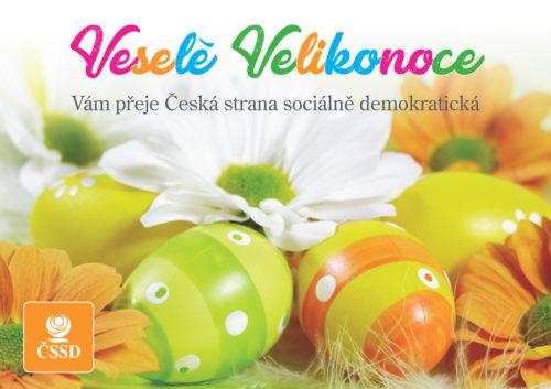 Veselé Velikonoce Vám přeje Česká strana sociálně demokratická